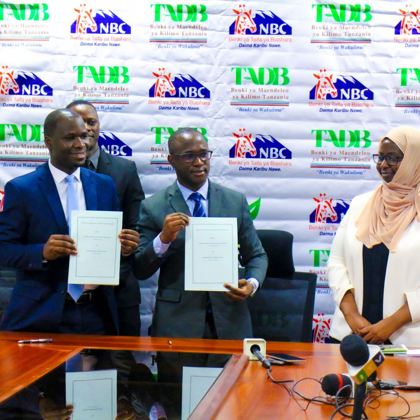 TADB, NBC to disburse TZS 20 billion to empower thousands of small-holder farmers in agri-value-chains